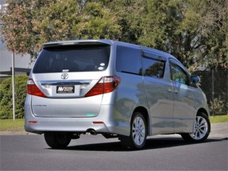 2010 Toyota Alphard ANH20W 240S Silver Constant Variable Van Wagon