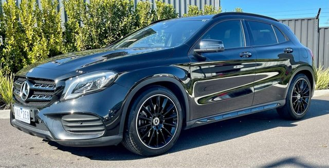 Used Mercedes-Benz GLA-Class X156 809+059MY GLA250 DCT 4MATIC Essendon Fields, 2019 Mercedes-Benz GLA-Class X156 809+059MY GLA250 DCT 4MATIC Black 7 Speed