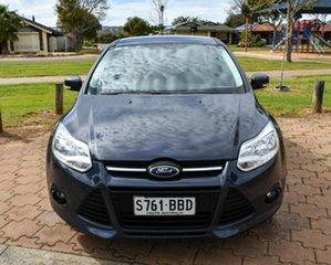 2014 Ford Focus LW MkII Trend PwrShift Grey 6 Speed Sports Automatic Dual Clutch Sedan.