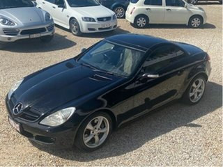 2005 Mercedes-Benz SLK350 R171 Black 7 Speed Automatic G-Tronic Convertible.
