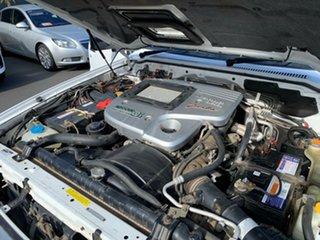 2004 Nissan Patrol GU IV MY05 ST White 4 Speed Automatic Wagon