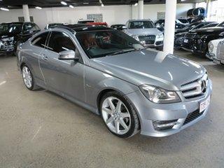 2012 Mercedes-Benz C-Class C204 C250 CDI BlueEFFICIENCY 7G-Tronic Palladium Silver 7 Speed.