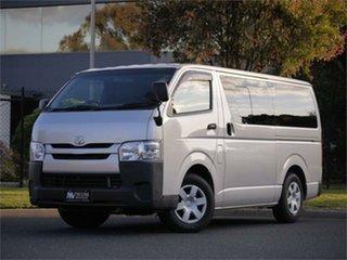 2015 Toyota HiAce KDH201V DX Silver 4 Speed Automatic Van.