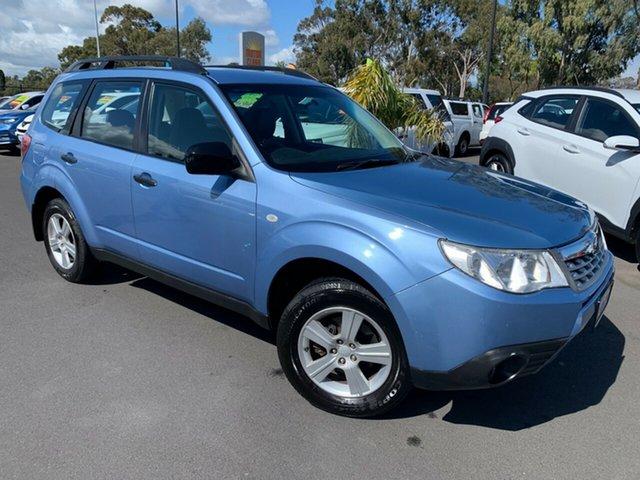Used Subaru Forester S3 MY12 X AWD Bunbury, 2012 Subaru Forester S3 MY12 X AWD Blue 4 Speed Sports Automatic Wagon