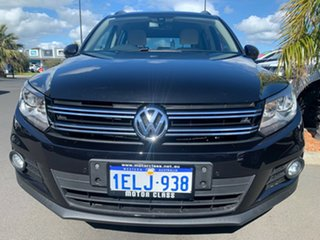 2013 Volkswagen Tiguan 5N MY14 103TDI DSG 4MOTION Pacific Black 7 Speed Sports Automatic Dual Clutch