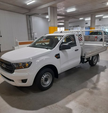 New Ford Ranger PX MkIII 2020.75MY XL Homebush, 2020 Ford Ranger PX MkIII 2020.75MY XL Arctic White 6 Speed Manual Single Cab Chassis