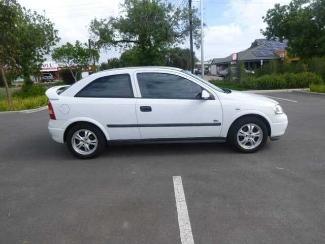 Used Holden Astra TS City Beverley, 2002 Holden Astra TS City White 4 Speed Automatic Hatchback