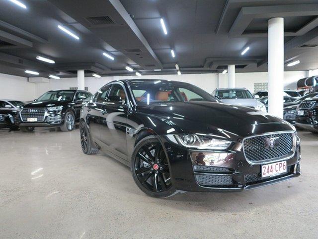 Used Jaguar XE X760 MY16 25t Portfolio Albion, 2016 Jaguar XE X760 MY16 25t Portfolio Black 8 Speed Sports Automatic Sedan