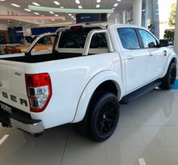 2021 Ford Ranger PX MkIII 2021.25MY XLT Arctic White 10 Speed Sports Automatic Double Cab Pick Up
