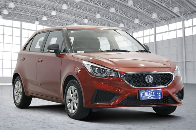 Used MG MG3 SZP1 MY20 Core Victoria Park, 2020 MG MG3 SZP1 MY20 Core Bristol Red 4 Speed Automatic Hatchback
