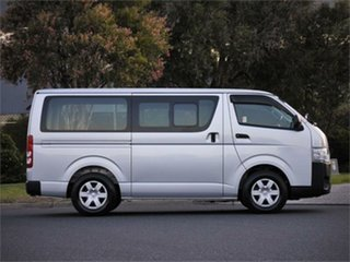 2016 Toyota HiAce KDH201V DX Silver 4 Speed Automatic Van