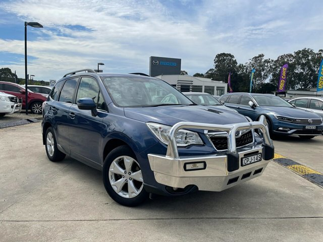 Used Subaru Forester S4 MY13 2.5i-L Lineartronic AWD Glendale, 2013 Subaru Forester S4 MY13 2.5i-L Lineartronic AWD Blue 6 Speed Constant Variable Wagon