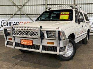 1998 Toyota Hilux LN147R 4x2 White 5 Speed Manual Utility.