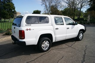 2018 Volkswagen Amarok 2H MY18 TDI420 Core Edition (4x4) White 8 Speed Automatic Dual Cab Utility