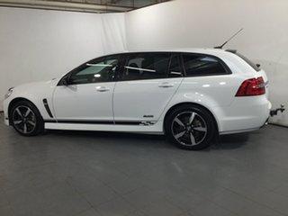 2016 Holden Commodore VF II MY16 SV6 Sportwagon Black White 6 Speed Sports Automatic Wagon