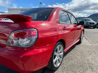 2006 Subaru Impreza S MY06 WRX AWD Red 5 Speed Manual Sedan