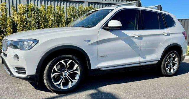 Used BMW X3 F25 LCI xDrive20i Steptronic Essendon Fields, 2016 BMW X3 F25 LCI xDrive20i Steptronic White 8 Speed Automatic Wagon