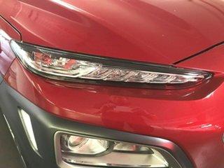 2019 Hyundai Kona OS.3 MY20 Elite 2WD Red 6 Speed Sports Automatic Wagon