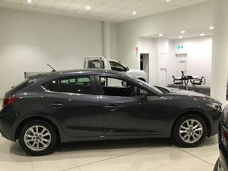 2015 Mazda 3 BM5478 Maxx SKYACTIV-Drive Meteor Grey 6 Speed Sports Automatic Hatchback.
