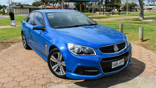 Used Holden Commodore VF MY14 SV6 Ingle Farm, 2014 Holden Commodore VF MY14 SV6 Blue 6 Speed Sports Automatic Sedan