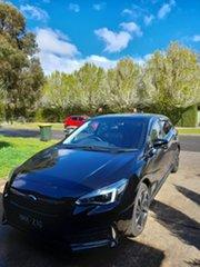 2020 Subaru Impreza G5 MY21 2.0i-S CVT AWD Black 7 Speed Constant Variable Hatchback.