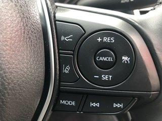 2018 Toyota Camry Hybrid Frosted White Sedan
