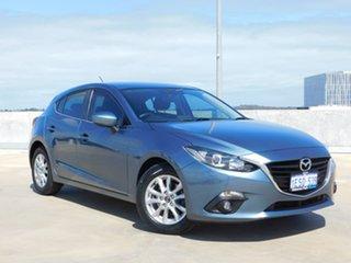 2015 Mazda 3 BM5478 Maxx SKYACTIV-Drive Blue 6 Speed Sports Automatic Hatchback.