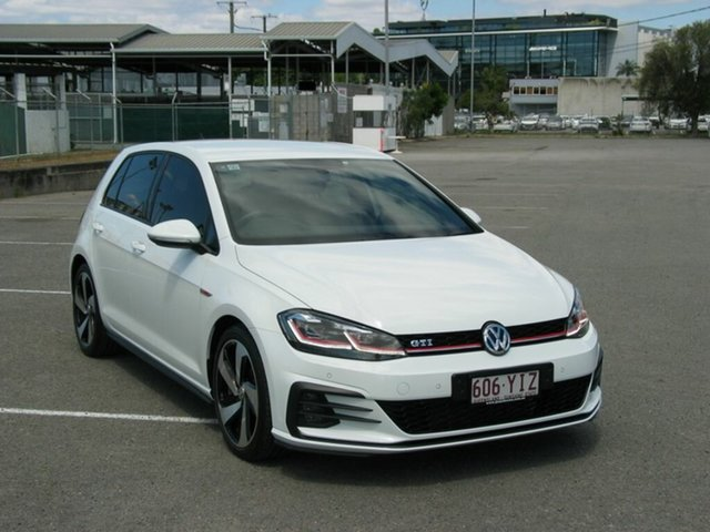 Used Volkswagen Golf AU MY18 Update GTi Albion, 2018 Volkswagen Golf AU MY18 Update GTi White 6 Speed Manual Hatchback