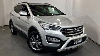 2012 Hyundai Santa Fe DM MY13 Elite Silver 6 Speed Sports Automatic Wagon.