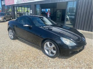 2005 Mercedes-Benz SLK350 R171 Black 7 Speed Automatic G-Tronic Convertible