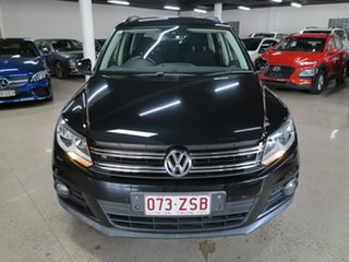 2014 Volkswagen Tiguan 5N MY14 103TDI DSG 4MOTION Pacific Black 7 Speed Sports Automatic Dual Clutch.