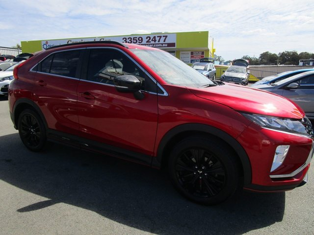 Used Mitsubishi Eclipse Cross YA MY19 Black Edition 2WD Kedron, 2019 Mitsubishi Eclipse Cross YA MY19 Black Edition 2WD Red 8 Speed Constant Variable Wagon