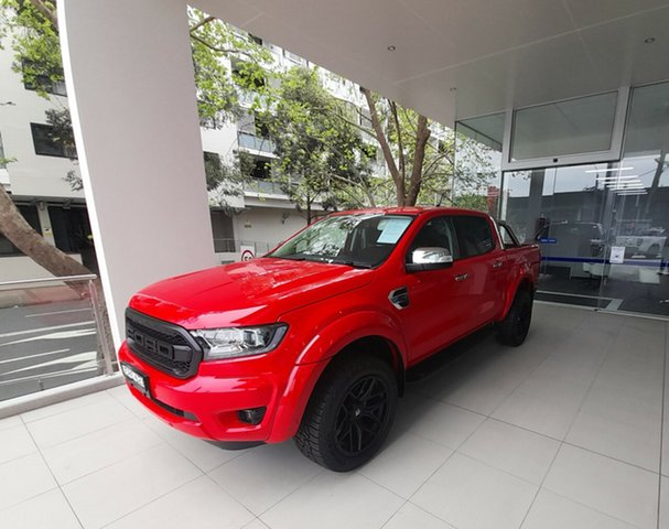 Demo Ford Ranger PX MkIII 2021.25MY XLT Homebush, 2021 Ford Ranger PX MkIII 2021.25MY XLT True Red 10 Speed Sports Automatic Double Cab Pick Up