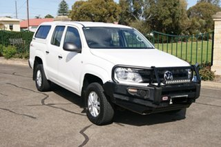 2018 Volkswagen Amarok 2H MY18 TDI420 Core Edition (4x4) White 8 Speed Automatic Dual Cab Utility.