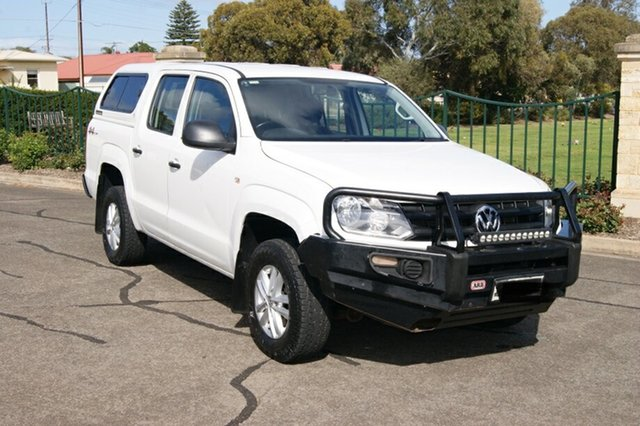 Used Volkswagen Amarok 2H MY18 TDI420 Core Edition (4x4) Blair Athol, 2018 Volkswagen Amarok 2H MY18 TDI420 Core Edition (4x4) White 8 Speed Automatic Dual Cab Utility