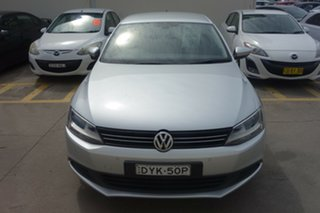 2014 Volkswagen Jetta 1B MY14 118TSI DSG Comfortline Silver, Chrome 7 Speed.
