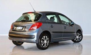 2007 Peugeot 207 A7 XR Grey 5 Speed Manual Hatchback.