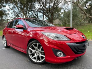 2012 Mazda 3 BL1032 MY13 MPS Red 6 Speed Manual Hatchback.