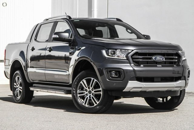 New Ford Ranger PX MkIII 2021.25MY Wildtrak Oakleigh, 2021 Ford Ranger PX MkIII 2021.25MY Wildtrak Grey 10 Speed Sports Automatic Double Cab Pick Up