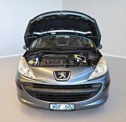2007 Peugeot 207 A7 XR Grey 5 Speed Manual Hatchback