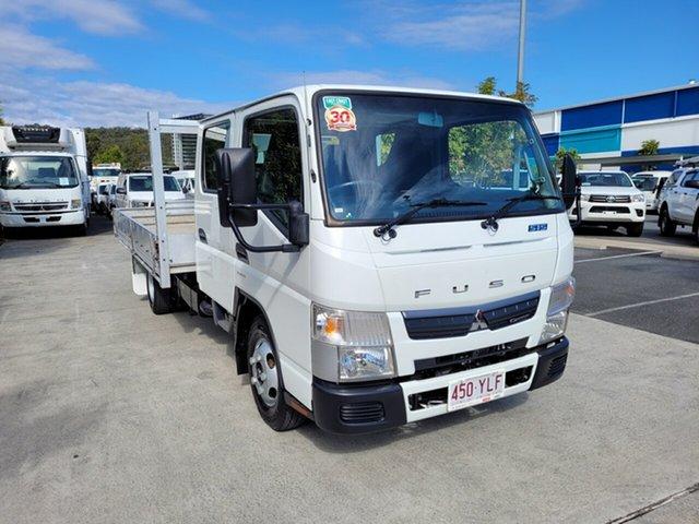 Used Mitsubishi Fuso Canter Robina, 2018 Mitsubishi Fuso Canter White Automatic Dual Cab