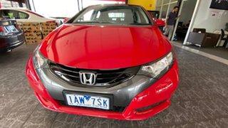 2013 Honda Civic 9th Gen MY13 VTi-S Red 5 Speed Sports Automatic Hatchback