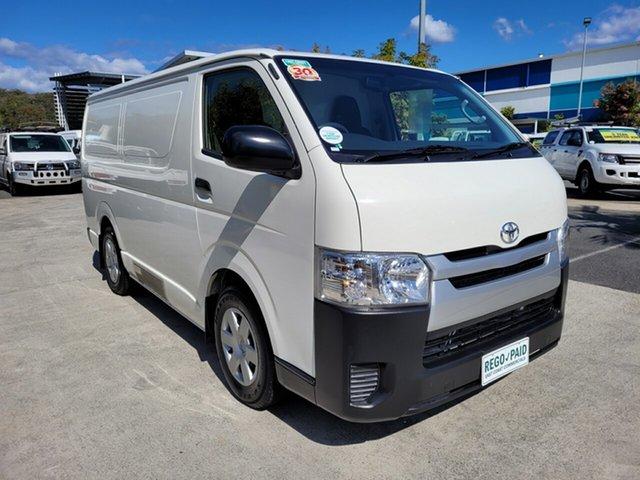 Used Toyota HiAce KDH201R LWB Robina, 2017 Toyota HiAce KDH201R LWB French Vanilla 4 speed Automatic Van