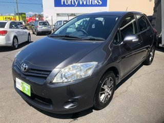 2010 Toyota Corolla ZRE152R MY10 Ascent Grey 6 Speed Manual Hatchback