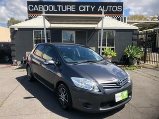 2010 Toyota Corolla ZRE152R MY10 Ascent Grey 6 Speed Manual Hatchback.
