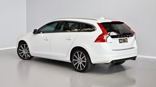 2013 Volvo V60 F Series MY14 T5 PwrShift Luxury White 6 Speed Sports Automatic Dual Clutch Wagon.
