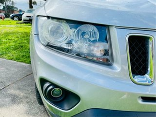 2016 Jeep Compass MK MY16 Sport (4x2) Silver Continuous Variable Wagon