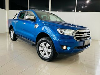 2020 Ford Ranger PX MkIII 2020.75MY XLT Blue Lightning 6 Speed Sports Automatic Double Cab Pick Up.