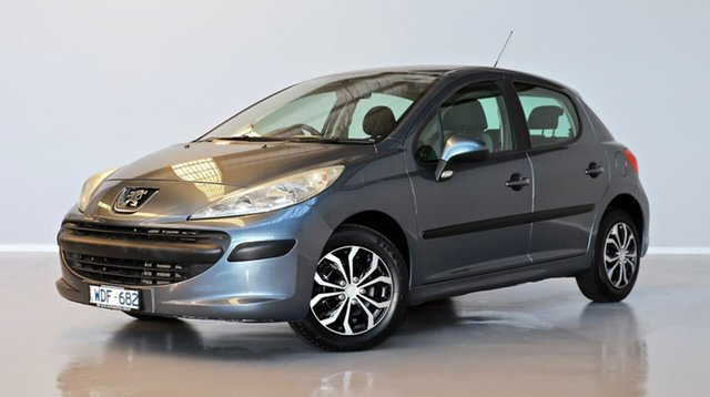 Used Peugeot 207 A7 XR Thomastown, 2007 Peugeot 207 A7 XR Grey 5 Speed Manual Hatchback