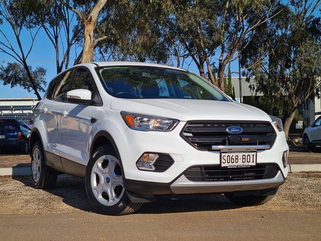 Used Ford Escape ZG Ambiente St Marys, 2016 Ford Escape ZG Ambiente White 6 Speed Sports Automatic SUV